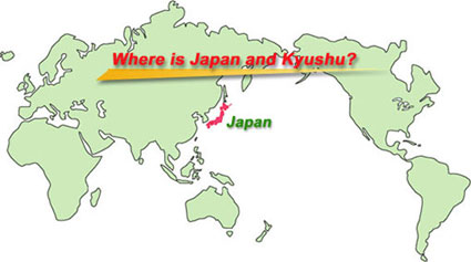 Kokura Japan Map.Transportation To Kita Kyushu Japan